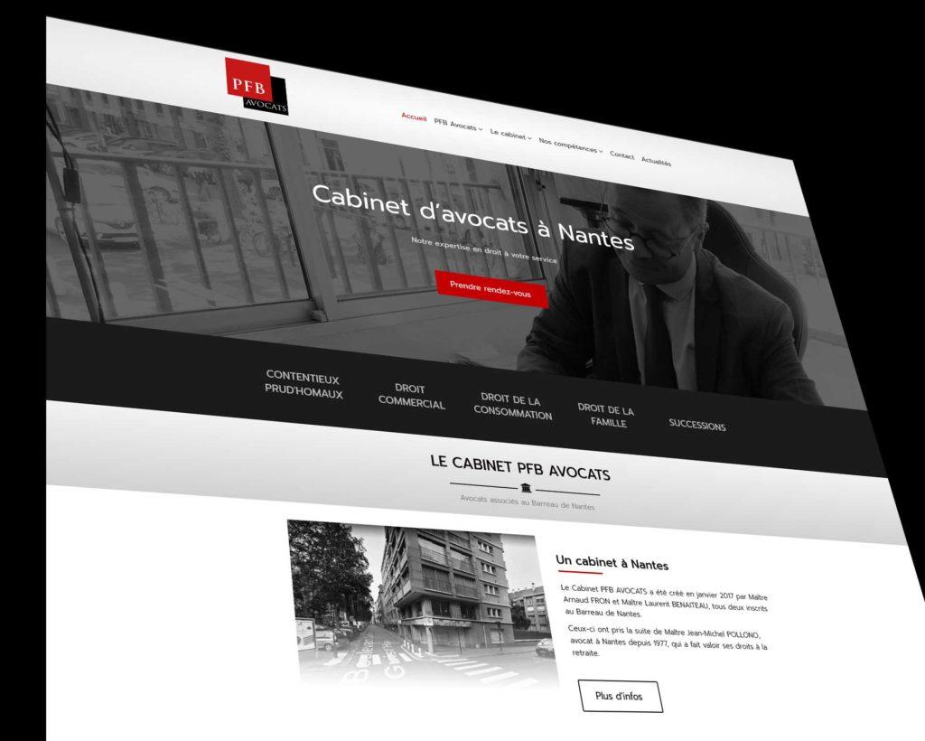 Site PFB avocats