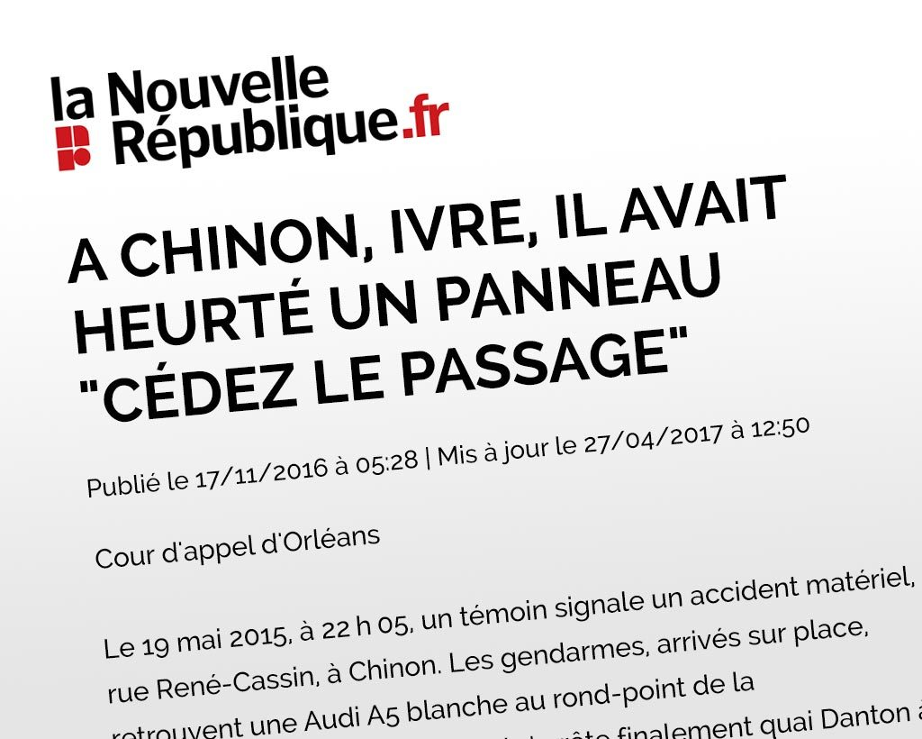 article la nouvelle republique