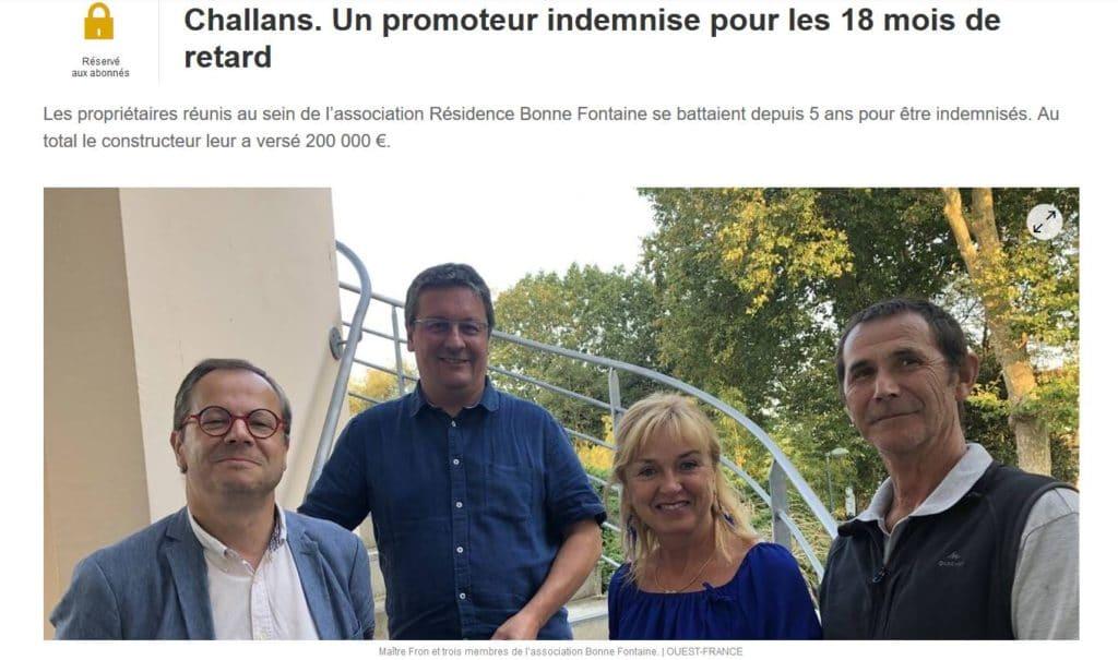LE CABINET PFB AVOCATS A L'HONNEUR